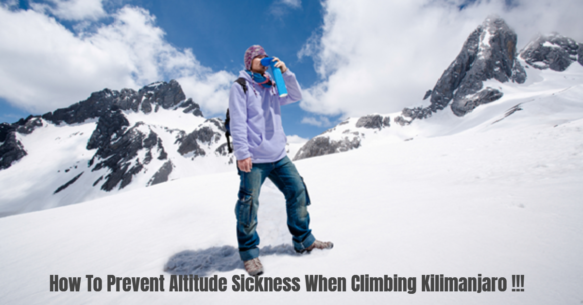 Prevent Altitude Sickness