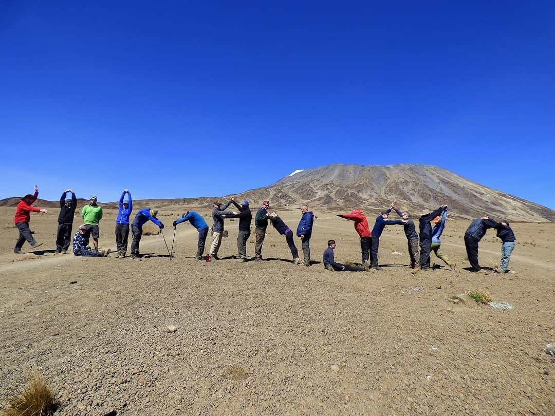 Training To Climb Mt Kilimanjaro