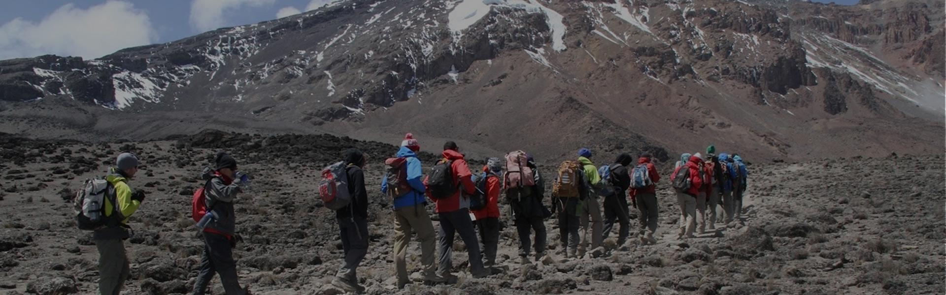 Daypack on Kilimanjaro